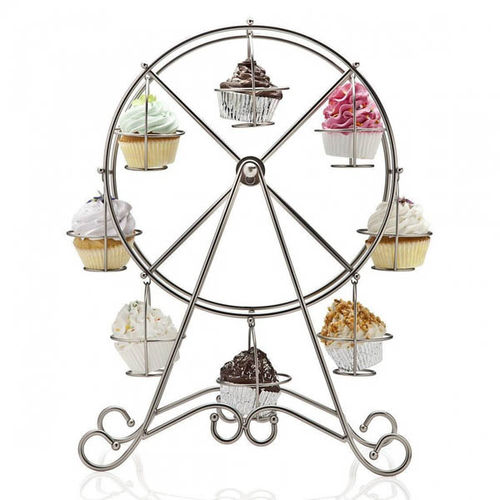 WHEEL CUP-CAKE STAND