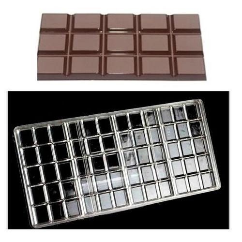 4 Cavity Chcolate Bar Polycarbonate Chocolate Mold