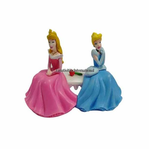 Disney Princess Doll Cakes Toppers 1
