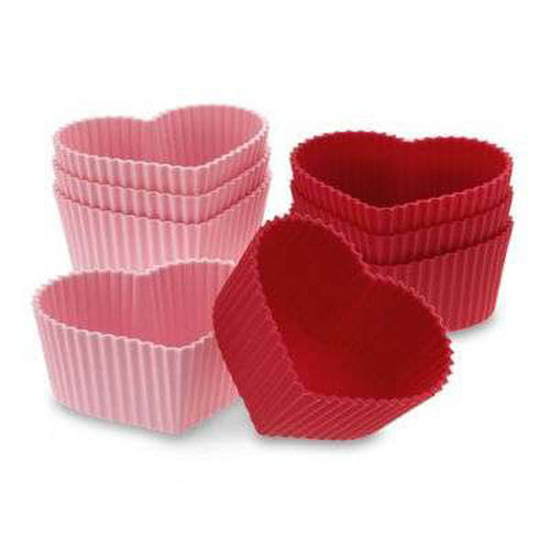 Heart shape muffin mould