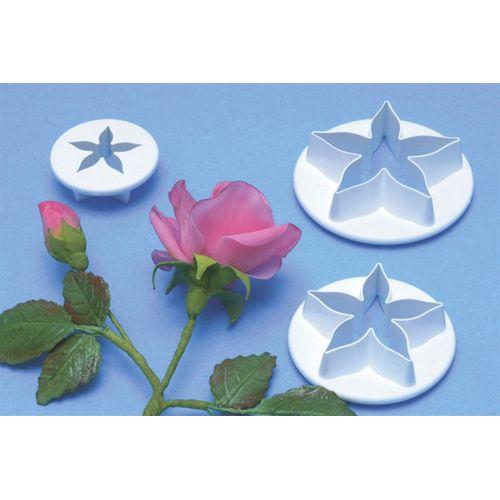 Rose Flower Calyx Plunger Cutter