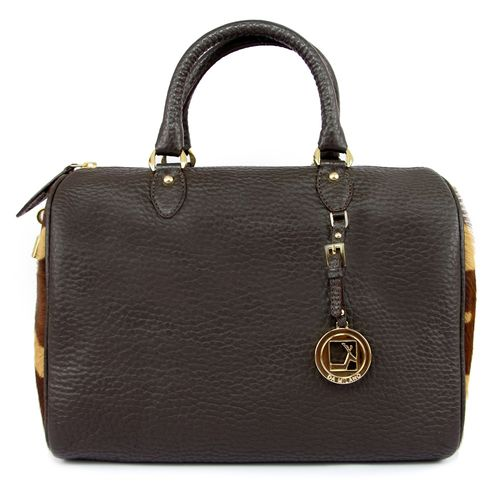 Da Milano Women LB-4163 Brown Handbag