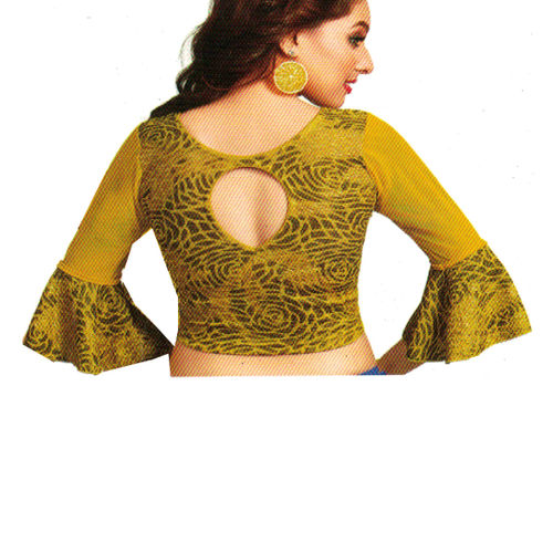 a647a02ff20bde Home · STRETCHABLE YELLOW ROSE BLOUSE · Zoom. sold-out-image