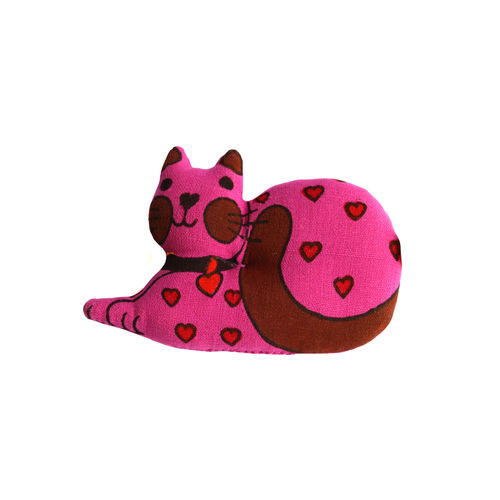 Fluffy cat Toy , L
