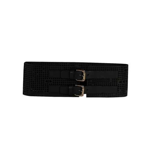 Womens Leather Lazered Belt