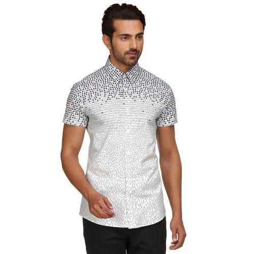 Geo-metry Half sleeve shirt