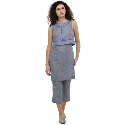 Layered Linen kurta