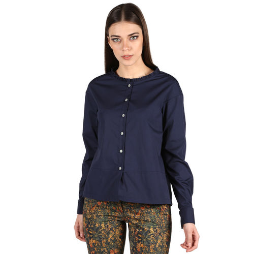 Overized Navy Shirt