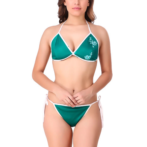535dadfdbcd Sale Xs and Os Women Satin Bra Panty Lingerie Set (Sea Green, Free Size)