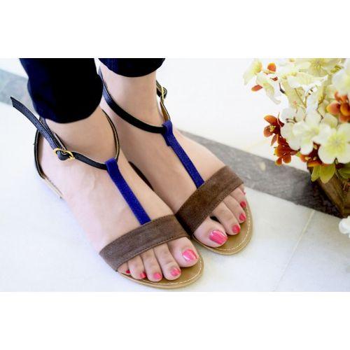 Pkkart Women's Blue Flats