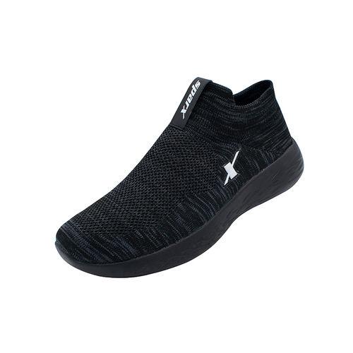Sparx Black Gents Sports Shoessm-7001