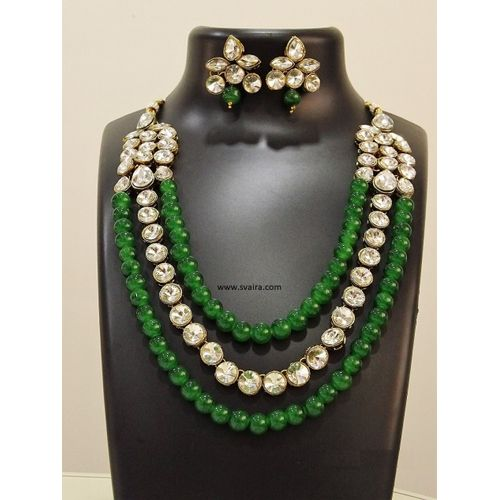 a17f8505db8 Green Pearl Necklace