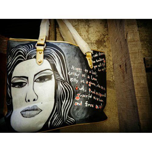 adele customized hand-bag