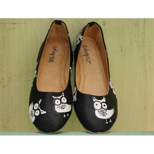 BLACK OWL BALLERINA