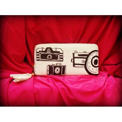 camera print wallet