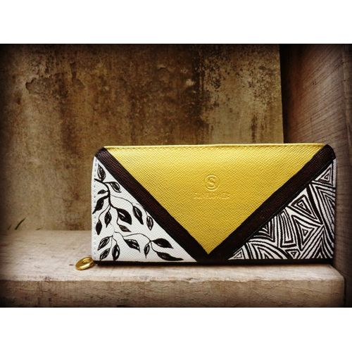GOLD ABSTRACT WALLET