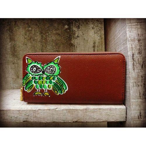 neon owl wallet