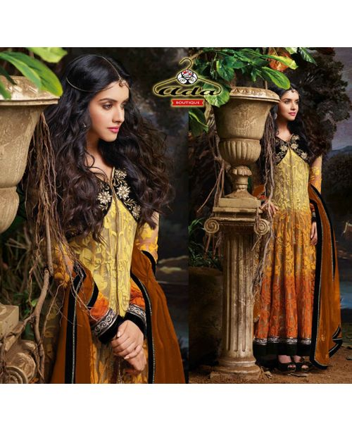 Glamorous Asin Anarkali Dress