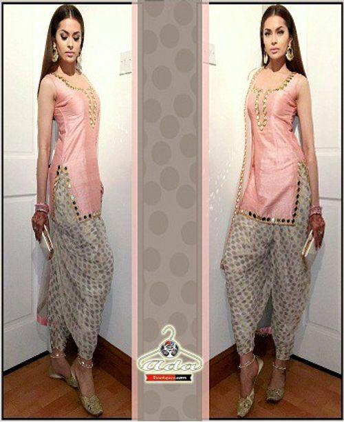 Stylish Patiala Dress