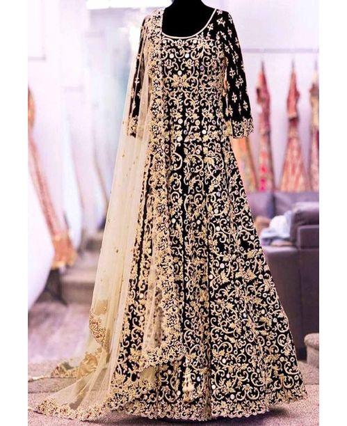 Stylish Black Ethnic Dress