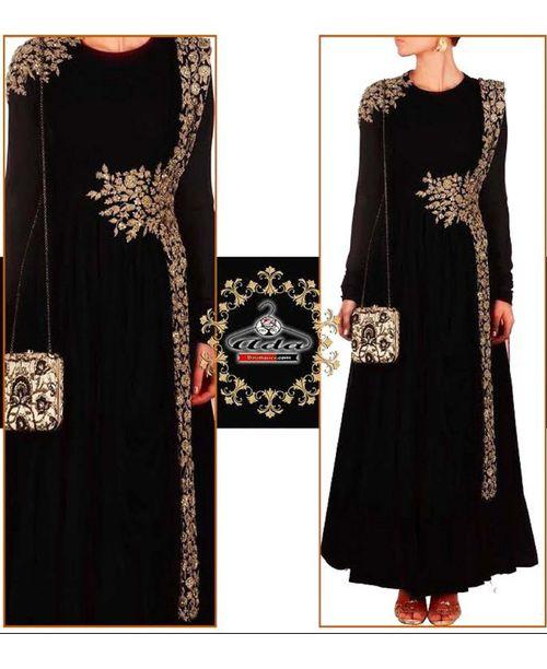 Sizzling Black Anarkali Dress