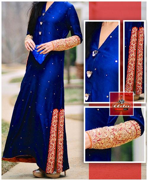 Ethnic Blue Dress