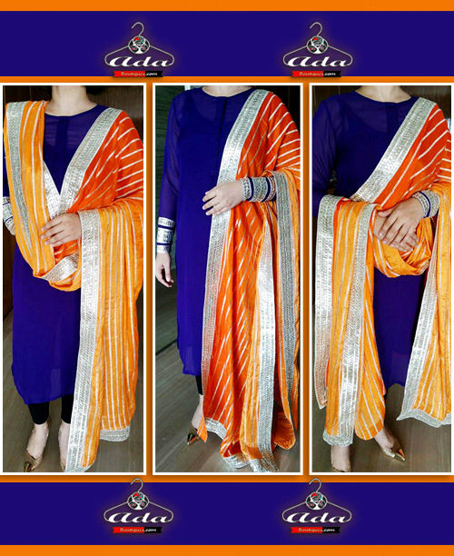 Blue/Orange Dress