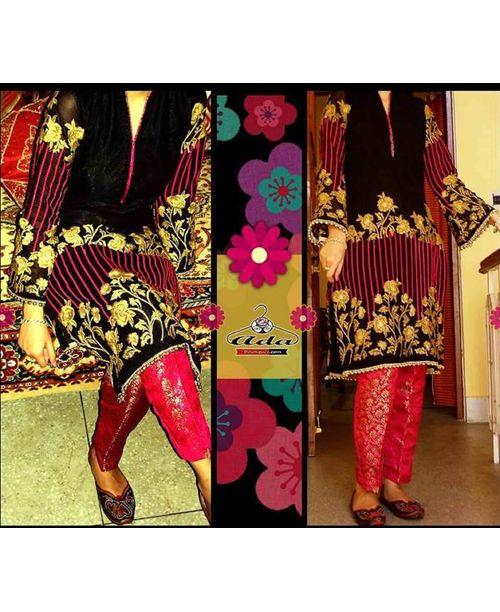 Trendy Black / Pink Dress