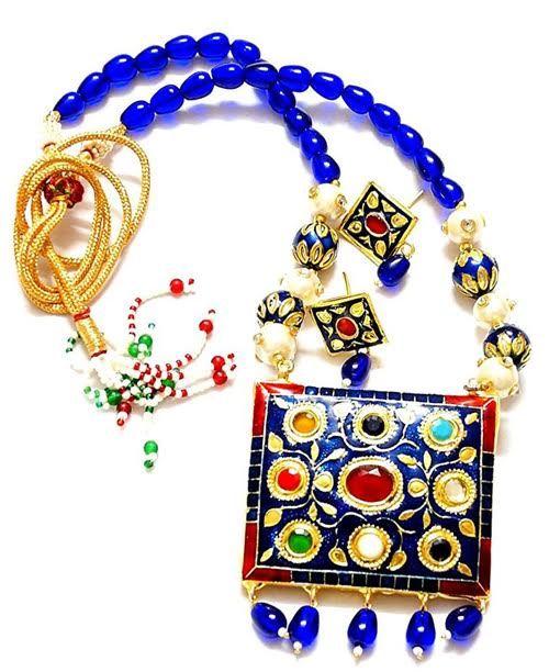 Blue Maharani Style Set