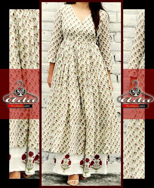 Casual Anarkali Dress