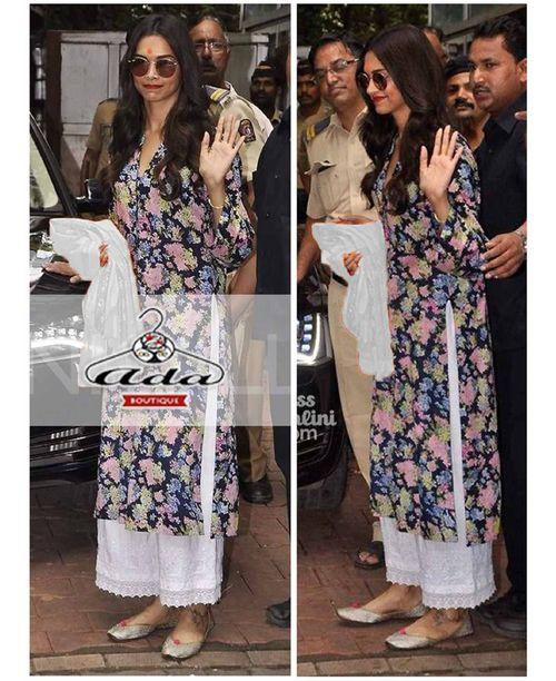 Sizzling Deepika Floral Dress
