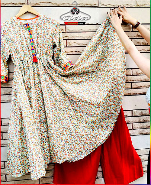 Trendy Floral Kurta /Plazzo Dress