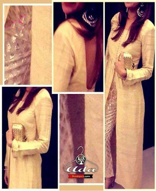 Stylish Beige Dress