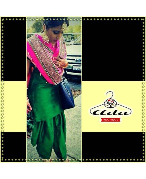 Sizzling Punjabi Dress