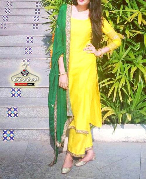 Yellow/Green Dress