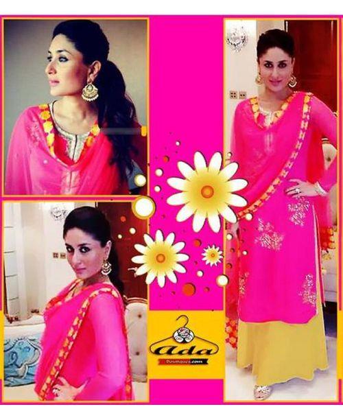 Kareena Stylish Pink Dress