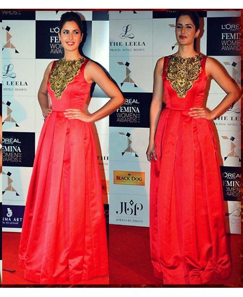 Ravishing  Katrina Kaif Stylish Gown