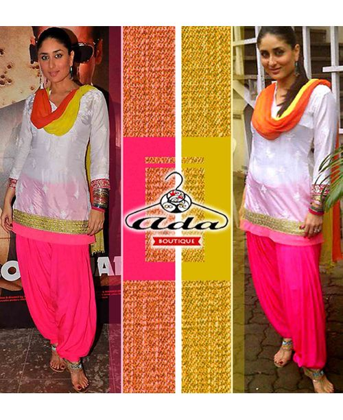 Hot Kareena Patiala Dress