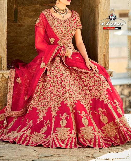 Supreme Quality Breathtaking Bridal Lehenga Dress