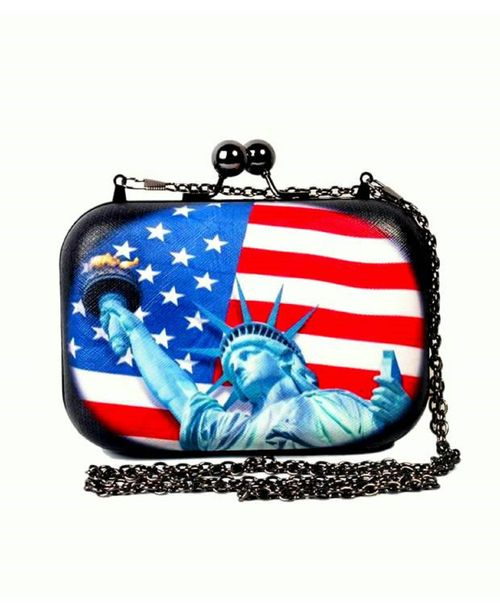 Statue of Liberty Design Clutch