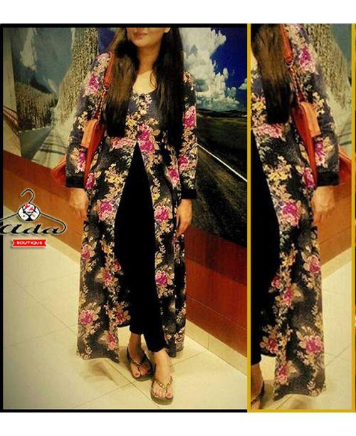 Trendy Black Stylish Dress