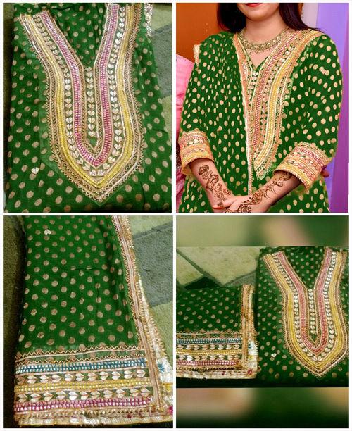Breathtaking Green Dress
