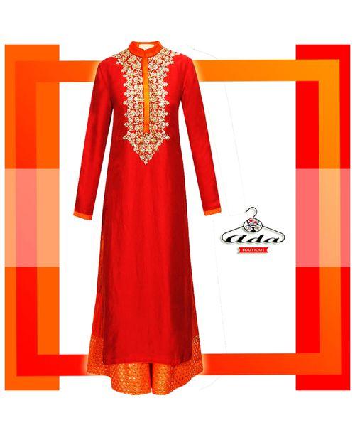 Sizzling Red/Orange Dress
