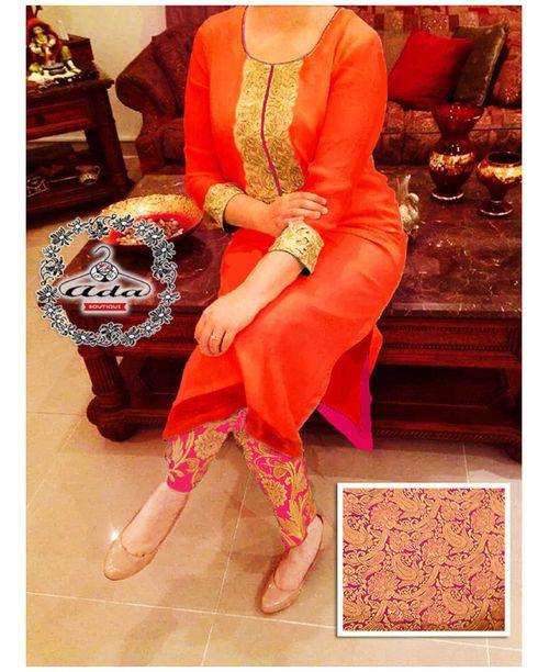 Stylish Pink / Orange Dress