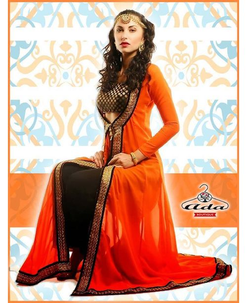 Sizzling Orange Dress