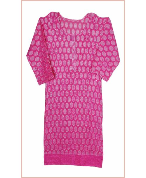Stylish Pink Kurti