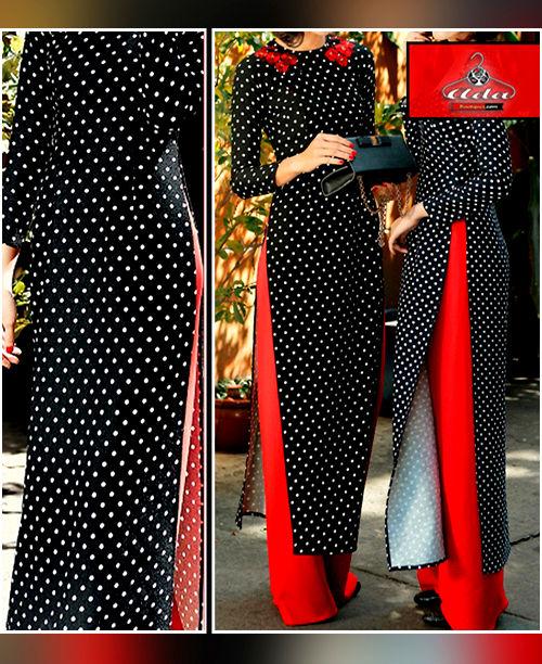 Polka Dot / Red Dress