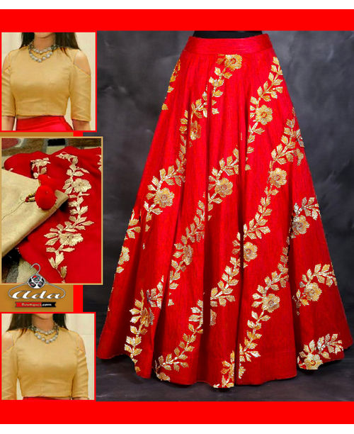 Ethnic Skirt Dress With Beautiful Embroidery