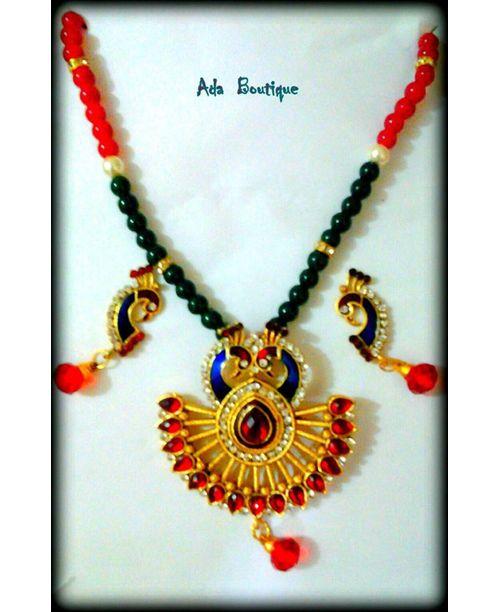 Peacock Jewellry Set