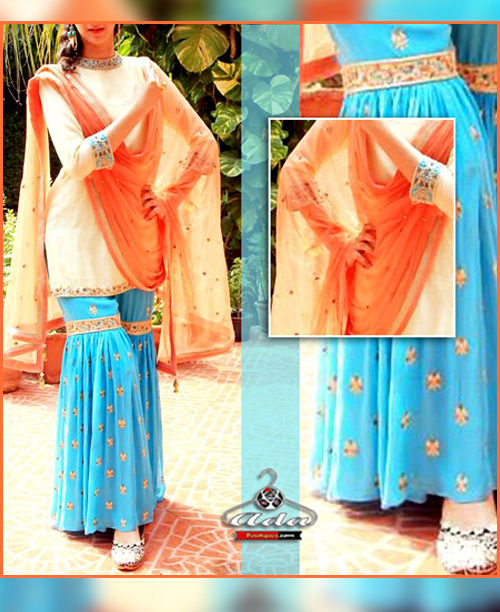 Stylish Sharara Dress